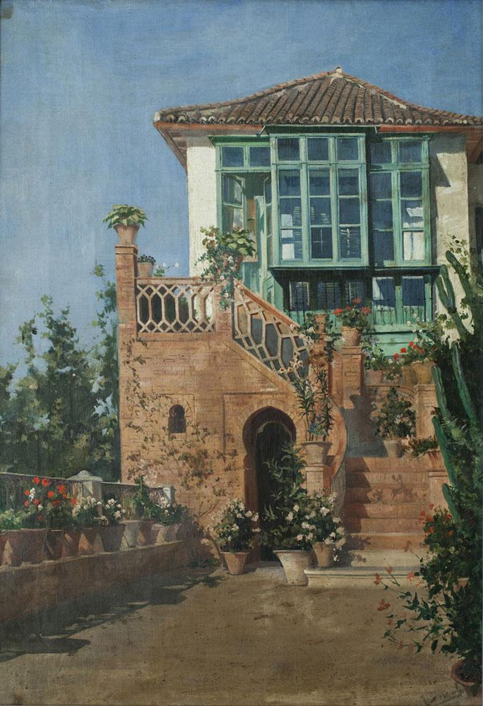 Luz García-Duarte [Casa familiar] ca. 1900
