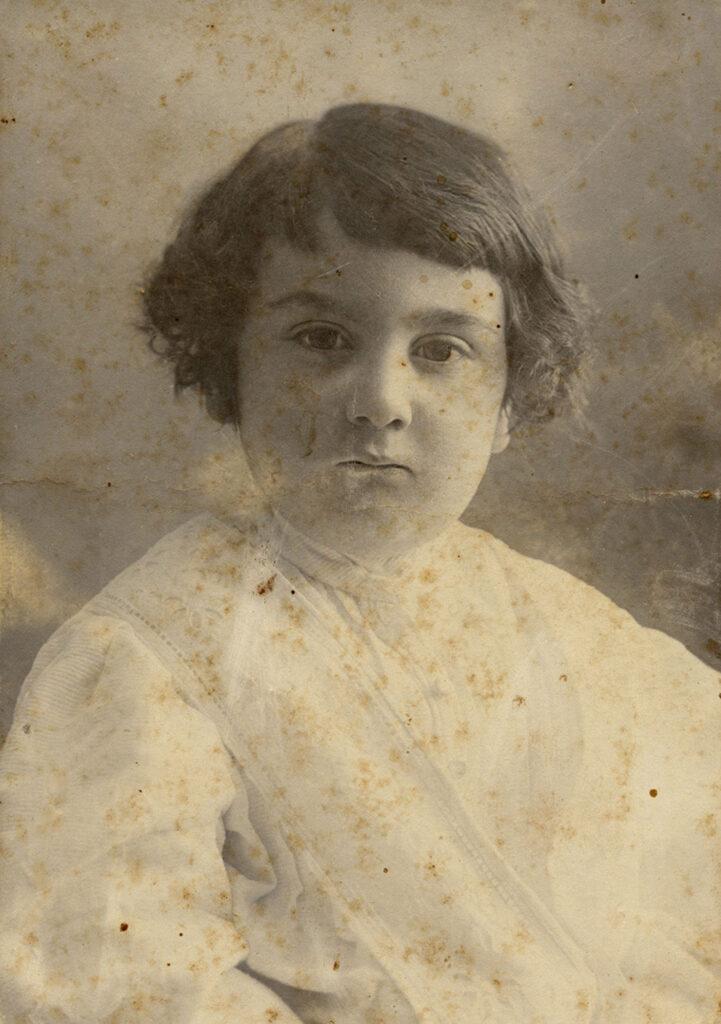 Francisco Ayala de niño