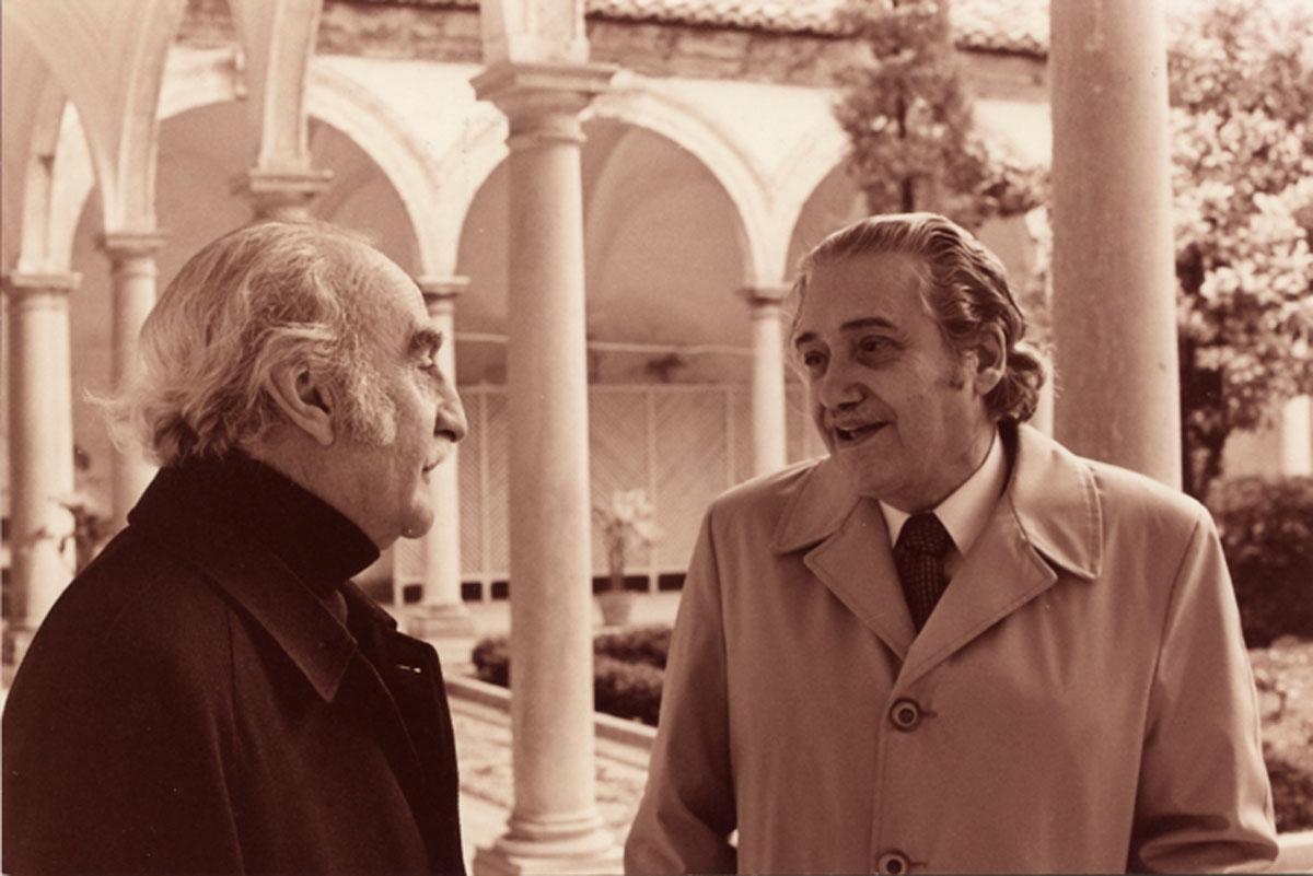 Francisco Ayala y Emilio Orozco