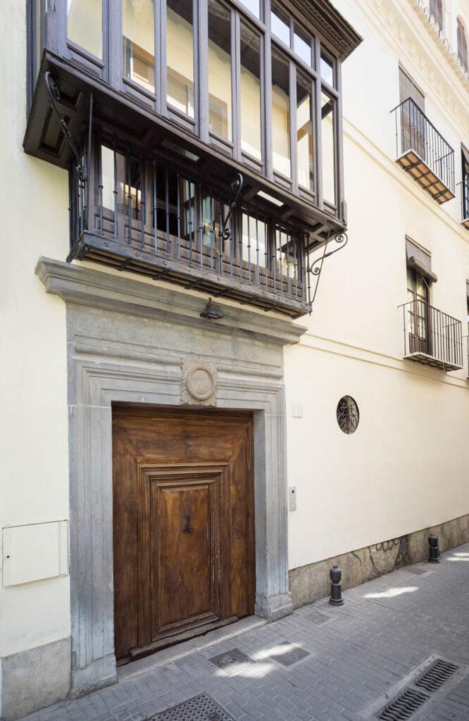 Casa del padrino de Francisco Ayala en la calle San Jacinto, en la actualidad.