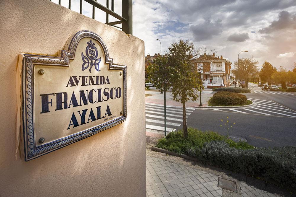 Avenida Francisco Ayala, Granada.