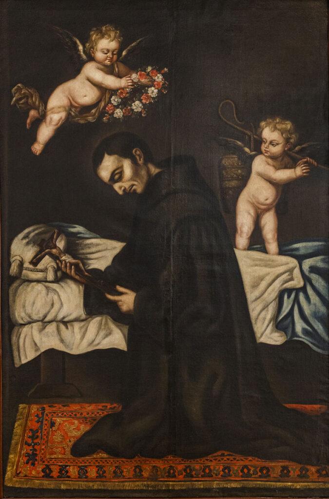 Muerte de San Juan de Dios