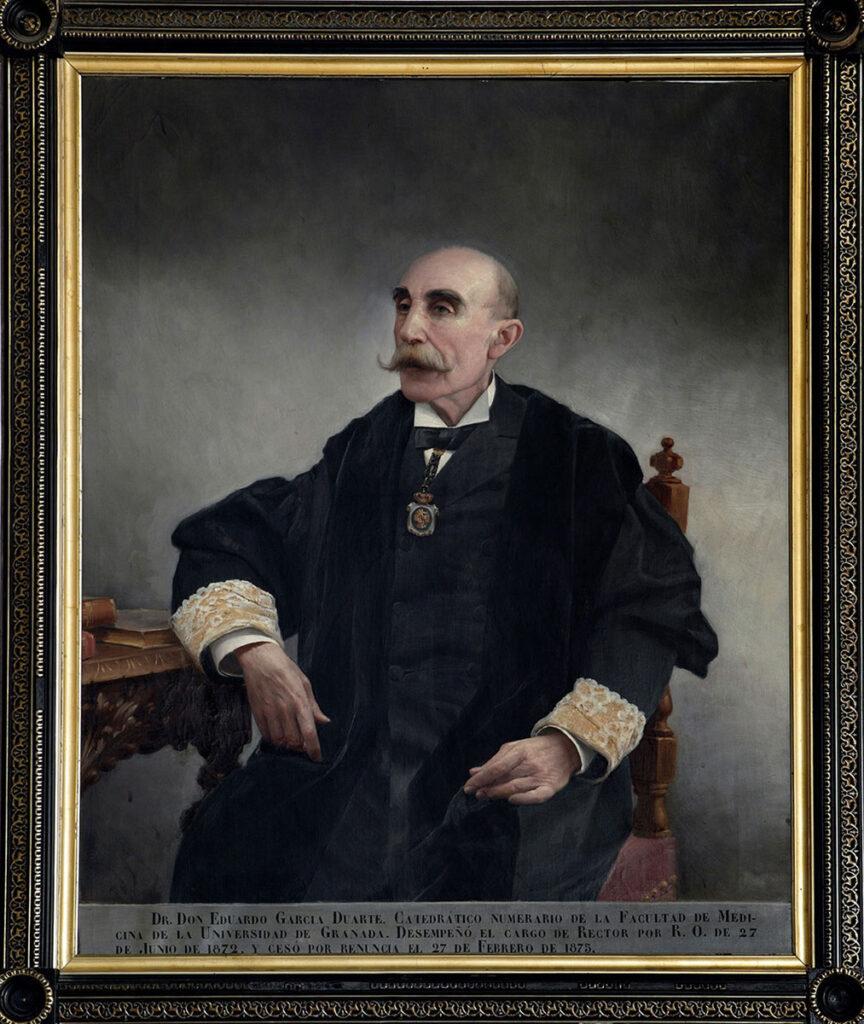 Autor desconocido. Rector García Duarte
